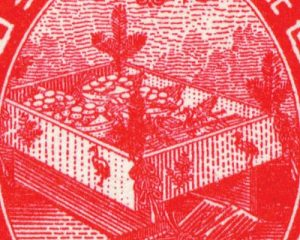 大正婚儀記念切手2